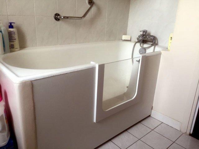 Ouverture latéral de baignoire Paris, Ile-de-France